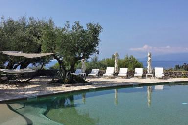 Romantisk villa för två vid stranden på Amalfikusten