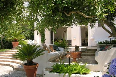 Härlig villa i vackra Anacapri med pool