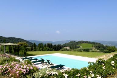 Vacker 1600-tals villa i pittoreska Toscana