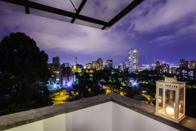 furnished apartments medellin penthouse - Solinares #602 2 level Penthouse