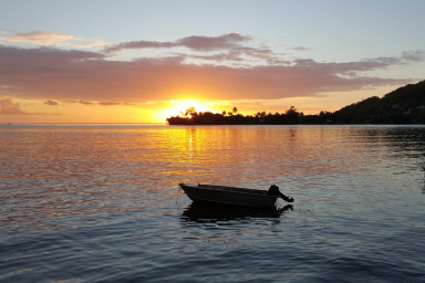 Вилла на берегу острова Муреа для семейного отдыха