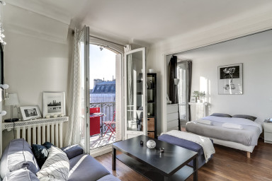 Spacious studio near Bastille