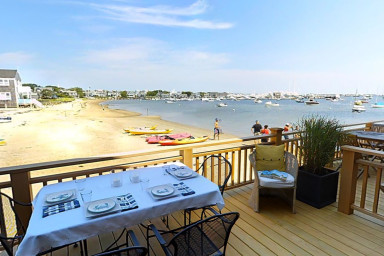 Harborside 5 - A Nantucket Downtown Beach Front Town Home.