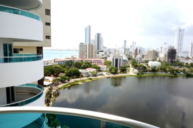 Beautiful View Condo in Cartagena, Great Location