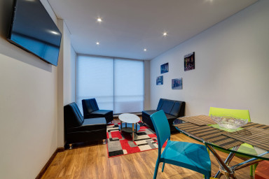 Stylish 2Br Pad in Chapinero Alto