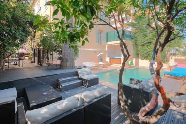 Superbe villa en plein centre ville de Cannes
