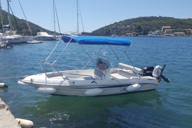 Sivota motor boat rental