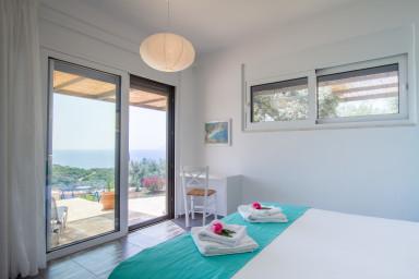 Villa Atokos : vista mare, piscina a sfioro, alba magica