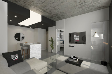 1 bedroom apartment downtown Montreal