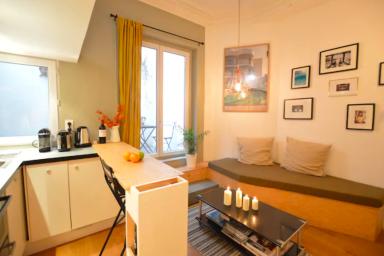 Romantique appartement au coeur de Paris