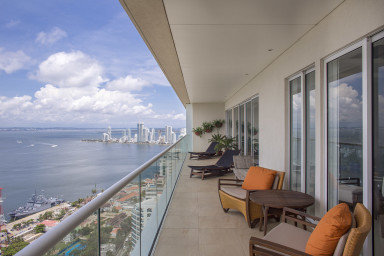 Astonishing Views Penthouse at H2/ HYATT Cartagena