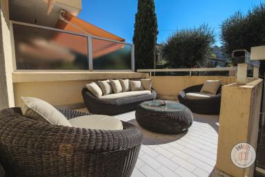 Appartement moderne et lumineux avec terrasse de 18m2 près de Cannes