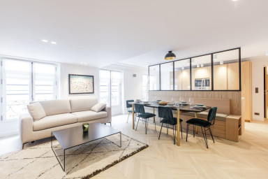 80sqm 2-BDR/2BR Saint Honoré - Serviced Apartments