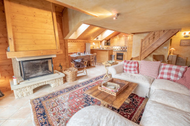 Premium apartment with sauna, 8 pers Meribel Village, 100m from the pistes
