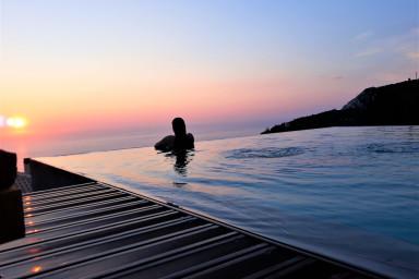 Luxury Villa with endless sea view,close to famous Porto Katsiki!