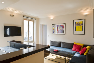 55sqm 2-BDR/2BR apt in Saint Michel - Ile St Louis