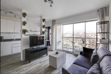Studio avec balcon et vue à Paris