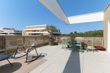 Bel appartement, terrasse exceptionnelle, dernier étage - Air Rental