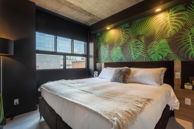 Furnished accommodation 1 bedroom downtown Montreal