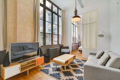A Trendy 2-BR apartment / loft in a Very Central Location