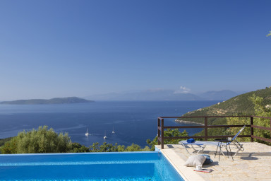 Villa Kalyvia - Endless Sea View on Sivota Hills and Ionian Islands