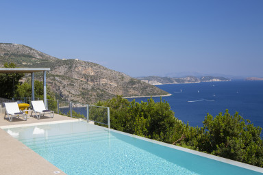 -20%:Brand New Villa Asterias:Feel the Greek Summer,enjoy the view & relax!