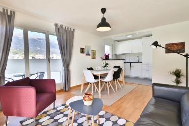 Bel appartement avec vue d'exception à Sierre