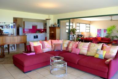 Appartement Sunset Pearl - Punaauia - Tahiti - vue Moorea - 2 ch & piscine