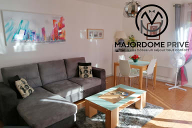 ❤️Spacious flat, terrace, beautiful view⛰ Tram C.Direct access Grenoble #A4