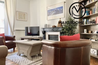 Spacious and nicely decorated appartement ✨ Lively district - Tram C -#AP