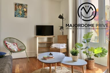 ✨Quiet big studio in the City Center for 4 persons - Near the tramway #AS