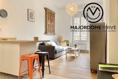 Bel appartement ⭐ complétement rénové en centre ville📍 #BL