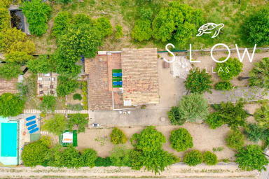 Villa Campanet with saltwater pool, charming garden and village views