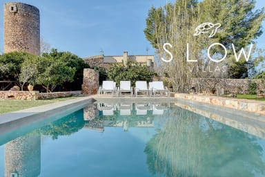 Villa Can Estela with special charm in the heart of lovely village