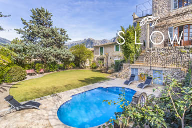 Villa Es Tilers in the heart of the charming village of Soller