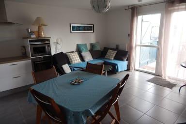 Très agréable appartement neuf dans le centre d'Andernos les Bains