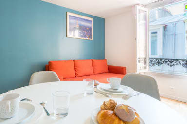 Vibrant Studio for 4 near Gare de l'Est