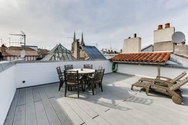 Bayonne - Charming duplex with terrace