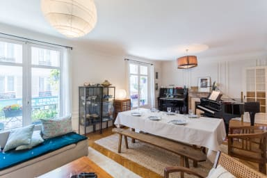 Appartement familial luxe situé Le Jardin du Luxembourg