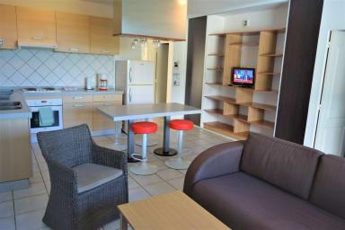 Appartement Manureva - Faa'a - Tahiti - 2 chambres - clim - 6 pers -vue mer