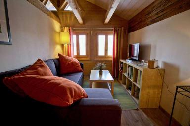 Appartement sous les combles - Chalet La Biolle - Vercorin