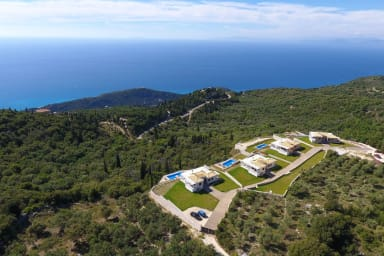 Luxurious Complex of Villas Drimonas with breathtaking sea view