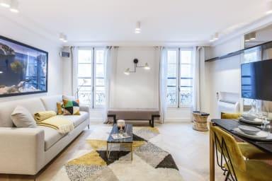 75sqm 2-BDR/2BR Saint Honoré - Serviced Apartments