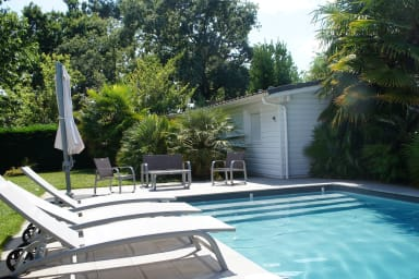 Small house with swimming pool 100m Bétey beach 2-4 persons