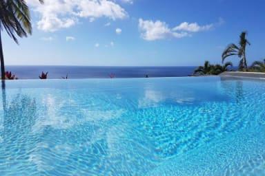 La Villa bleue, location aux Antilles