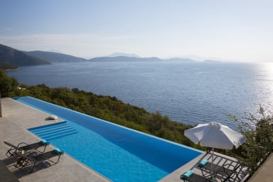 Villa Massalia - Infinity Lap Pool with Majestic Seaview