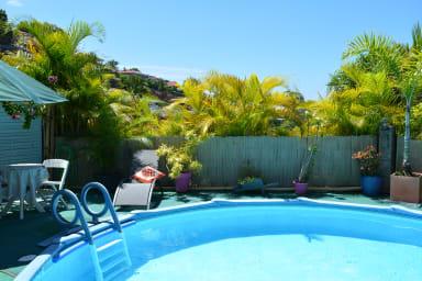 Shanti Fare - Mahina - Tahiti - 1 chambre, piscine, jardin, Wi-Fi - 2 pers