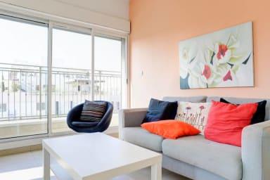 SUNNY SKY balcony - Gordon Beach- Ben Yehuda 114