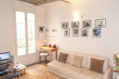 Outstanding studio in the heart of the Marais ...