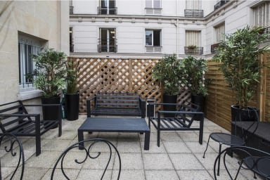Terrasse collective